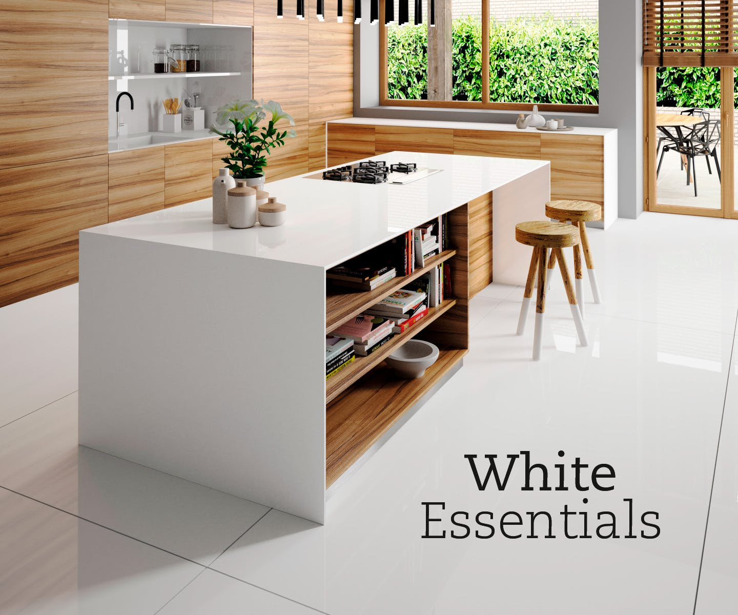 Eternal Silestone; White Essentials Silestone; Silestone_Influencer_ETCHINGS