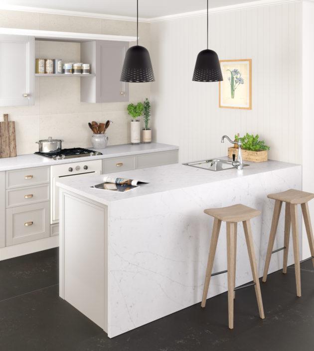 Silestone-Kitchen-Eternal-Statuario