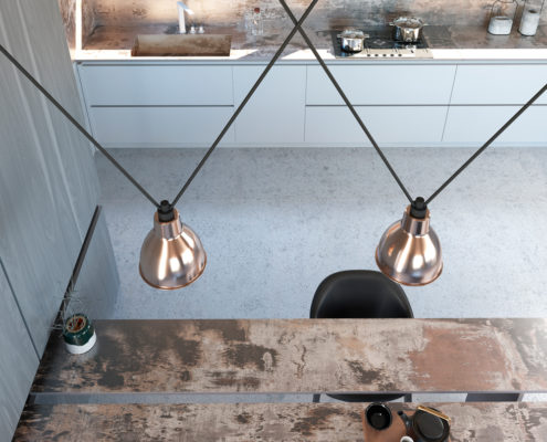 Dekton Industrial Kitchen Trilium